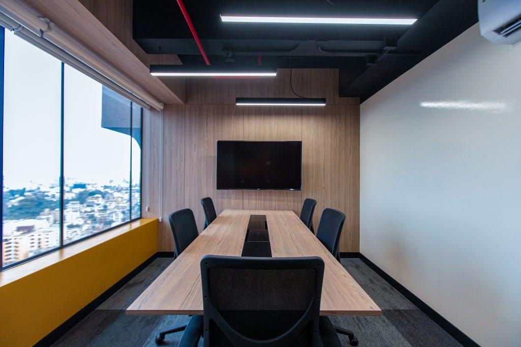 Directorio, Community Lounge en Torre Real, Centro Empresarial Real